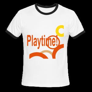 Playtime - Men's Ringer T-Shirt