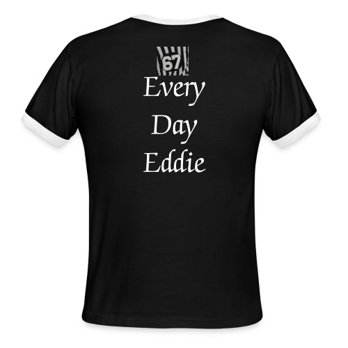 EveryDayEddie shirt - Men's Ringer T-Shirt