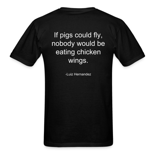 If pigs could fly - Men's T-Shirt