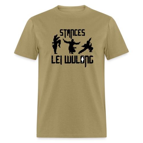 Lei Wulong stances - Men's T-Shirt