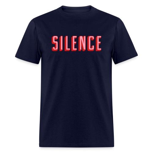 Silence - Men's T-Shirt
