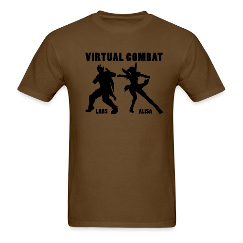 Lars/Alisa virtual combat men - Men's T-Shirt