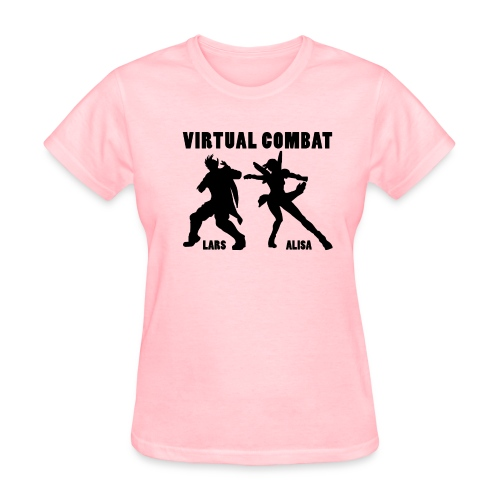 Lars/Alisa virtual combat girls - Women's T-Shirt