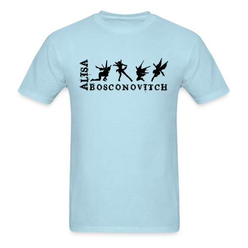 Alisa Bosconovitch men - Men's T-Shirt