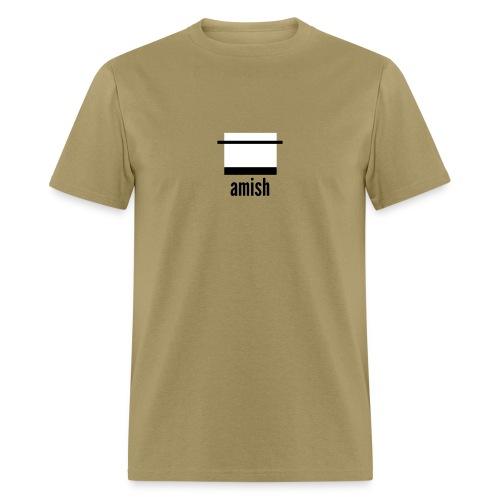 career pixels: amish - Men's T-Shirt