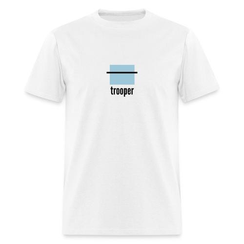 career pixels: trooper - Men's T-Shirt