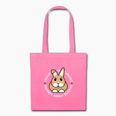 'Bonkers About Bunnies' Tote Shopping Bag
