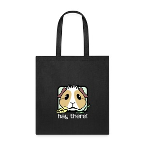 'Hay There' Guinea Pig Tote Shopping Bag - Tote Bag