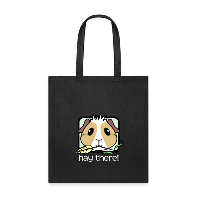 'Hay There' Guinea Pig Tote Shopping Bag