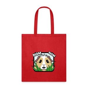 'Nom Nom' Guinea Pig Tote Shopping Bag - Tote Bag