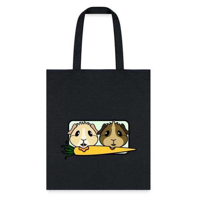 'Pair of Pigs' Tote Shopping Bag