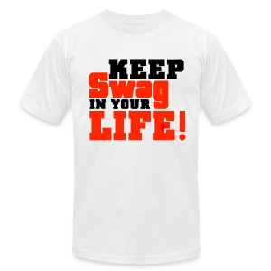 Keep Swag In Your Life Tee - Men's T-Shirt by American Apparel