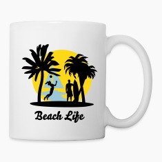 Beach Life Bottles & Mugs