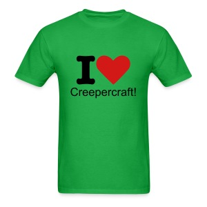 I Love Creepercraft! - Men's T-Shirt