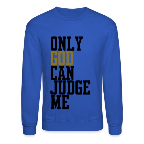 Crewneck Sweatshirt - Religion,Lyrics