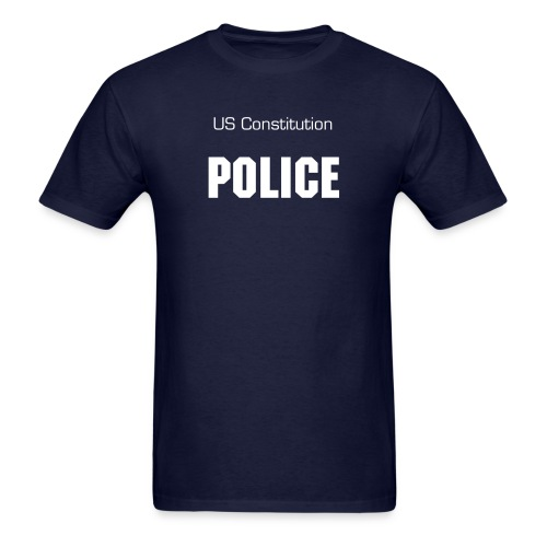 Unisex Constitution Police - Men's T-Shirt