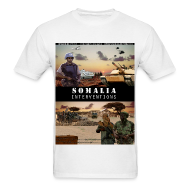 T-Shirts ~ Men's T-Shirt ~ somalia std