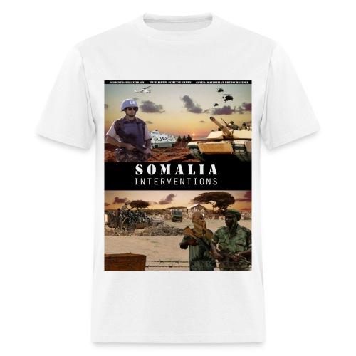 somalia std - Men's T-Shirt