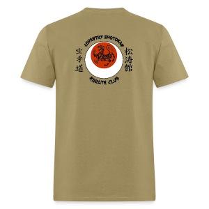 Men,s Light  T-Shirt Front Logo / Large Back Logo - Men's T-Shirt