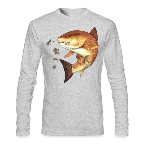 Redfish 1 - Men's Long Sleeve T-Shirt by Next Level
