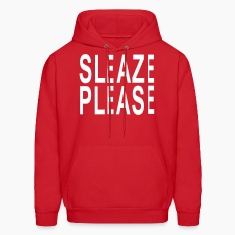 sleaze pleaze Hoodies