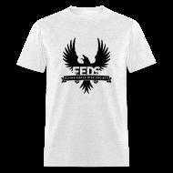 T-Shirts ~ Men's T-Shirt ~ Men's Standard Weight T-Shirt - Black Logo