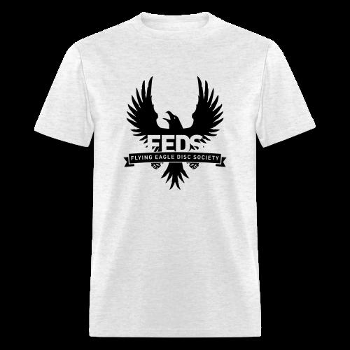 Men's Standard Weight T-Shirt - Black Logo - Men's T-Shirt
