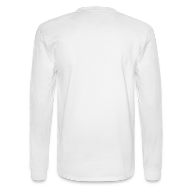 Men's Long Sleeve Shirt - Black Logo