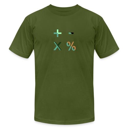 Arithmetic Blending Modes - Men's Fine Jersey T-Shirt