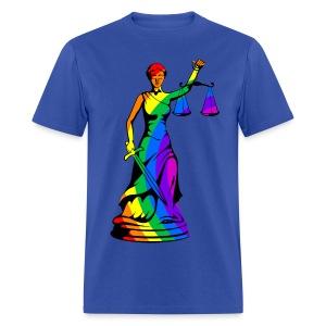 Rainbow Liberty - Men's T-Shirt