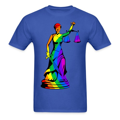 Rainbow Liberty - Men's T-Shirt