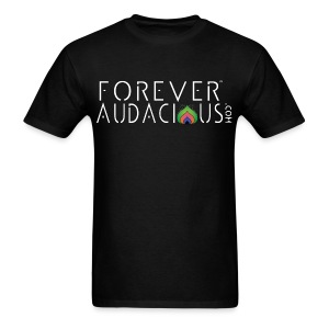 forever audacious brand tee  - Men's T-Shirt