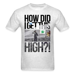 High Astronaut  - Men's T-Shirt