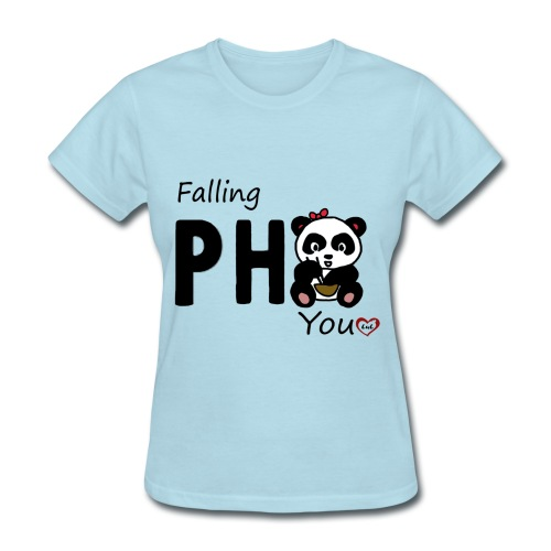 Fallin Pho You (girl edition) - Women's T-Shirt