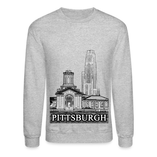 Pittsburgh Long Sleeve Shirts - Crewneck Sweatshirt
