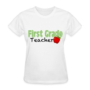 1st teacher chevron - Women's T-Shirt