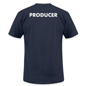 Cinema and Media Arts - Producer - Men's Fine Jersey T-Shirt