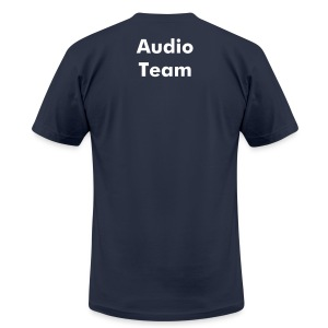 Cinema and Media Arts - Audio Team - Men's Fine Jersey T-Shirt