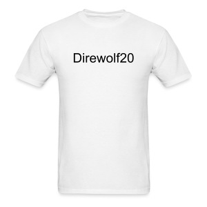 Direwolf20's Test Shirt - Men's T-Shirt