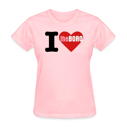 Girls Love The Boro - Women's T-Shirt