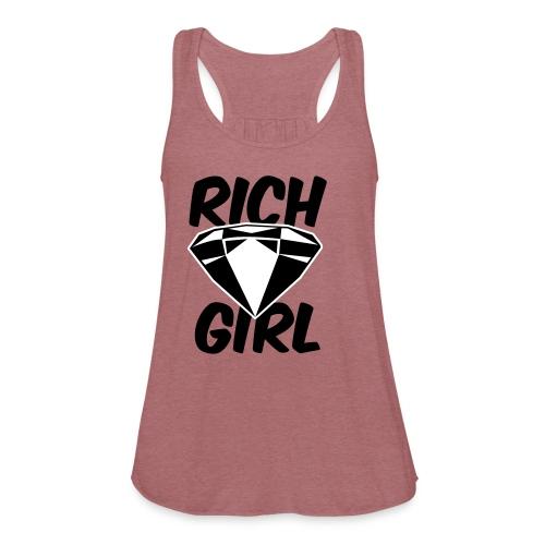 Rich Girl Gear - Women's Flowy Tank Top by Bella