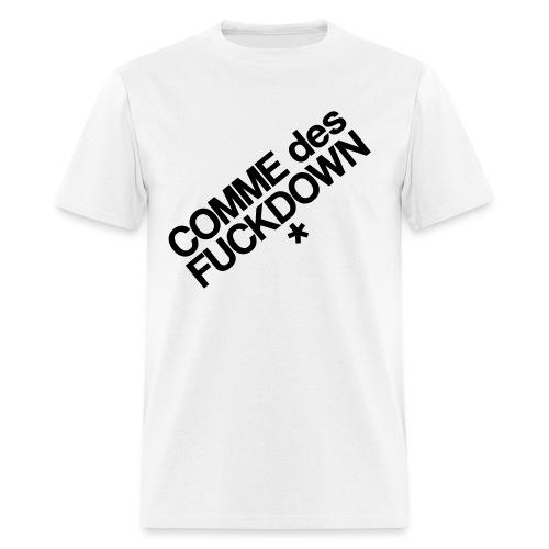 Comme Des Fuckdown - Men's T-Shirt