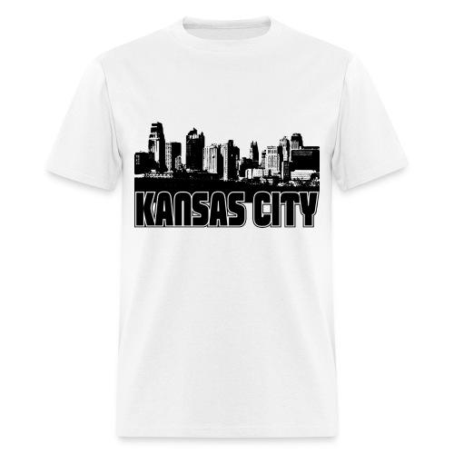 KansasCity Skyline - Men's T-Shirt