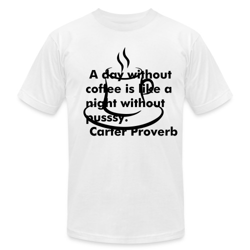 Men's  Jersey T-Shirt - COFFEE