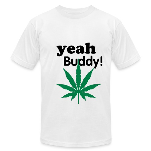 Men's Fine Jersey T-Shirt - WEED PROVERB