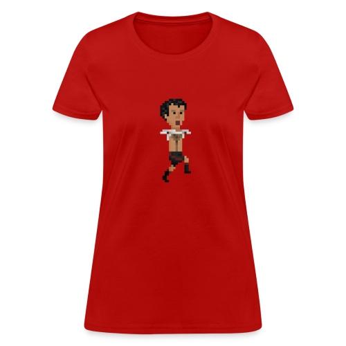 Women T-Shirt - Hairy chest celebration - Women's T-Shirt