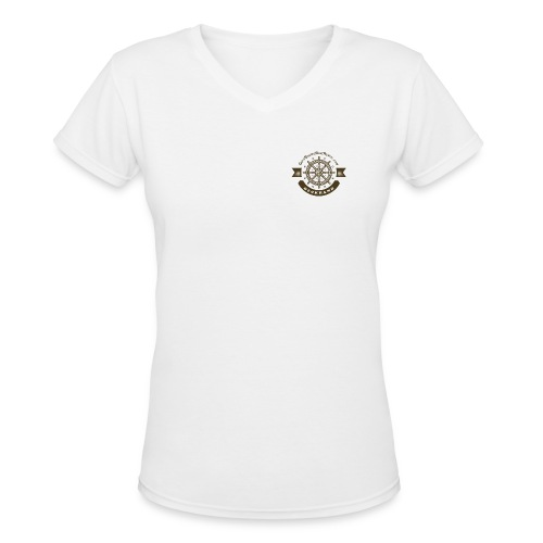 Anchor Deep Your Soul - Deckhand - Womens - Women's V-Neck T-Shirt
