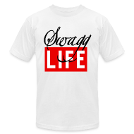 T-Shirts ~ Men's T-Shirt by American Apparel ~ Swag Life Tee