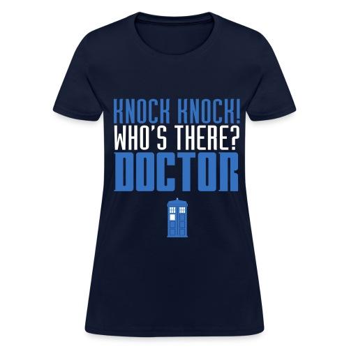 Knock Knock - Women's Tee - Women's T-Shirt