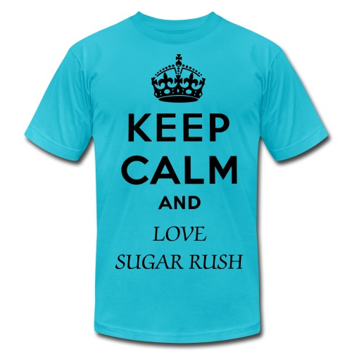 TURQO MEN KEEP CALM SRP SHIRT  - Men's Fine Jersey T-Shirt